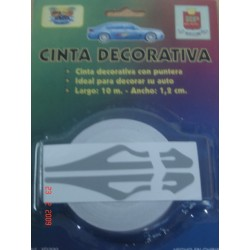 CINTA DECORATIVA C/PUNT.BLANCO