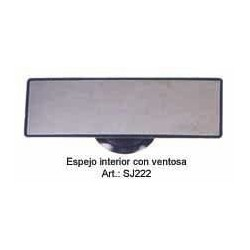 ESPEJO INTERI C/VENTOSA 15x5cm