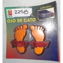 OJO DE GATO PATITAS X JGO