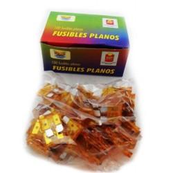 FUSIBLE PLANO X100PZS 15 AMPER