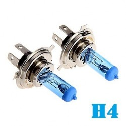 LAMPARA H4 12V 55W BLUE COATX KIT
