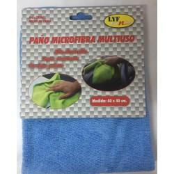 PAÑO MICROFIBRA MULTIUSO  AZUL